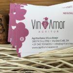 Realizzazione biglietti da visita Agritur Vin e Amor Dro