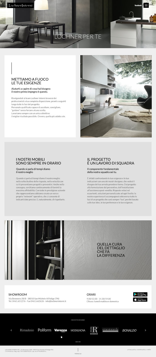 Lochner interni floriani andrea studio grafico siti for Siti design interni