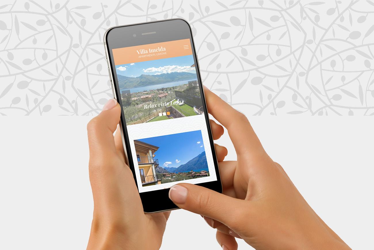 Realizzazione sito internet appartamenti Caravel a Limone sul Garda