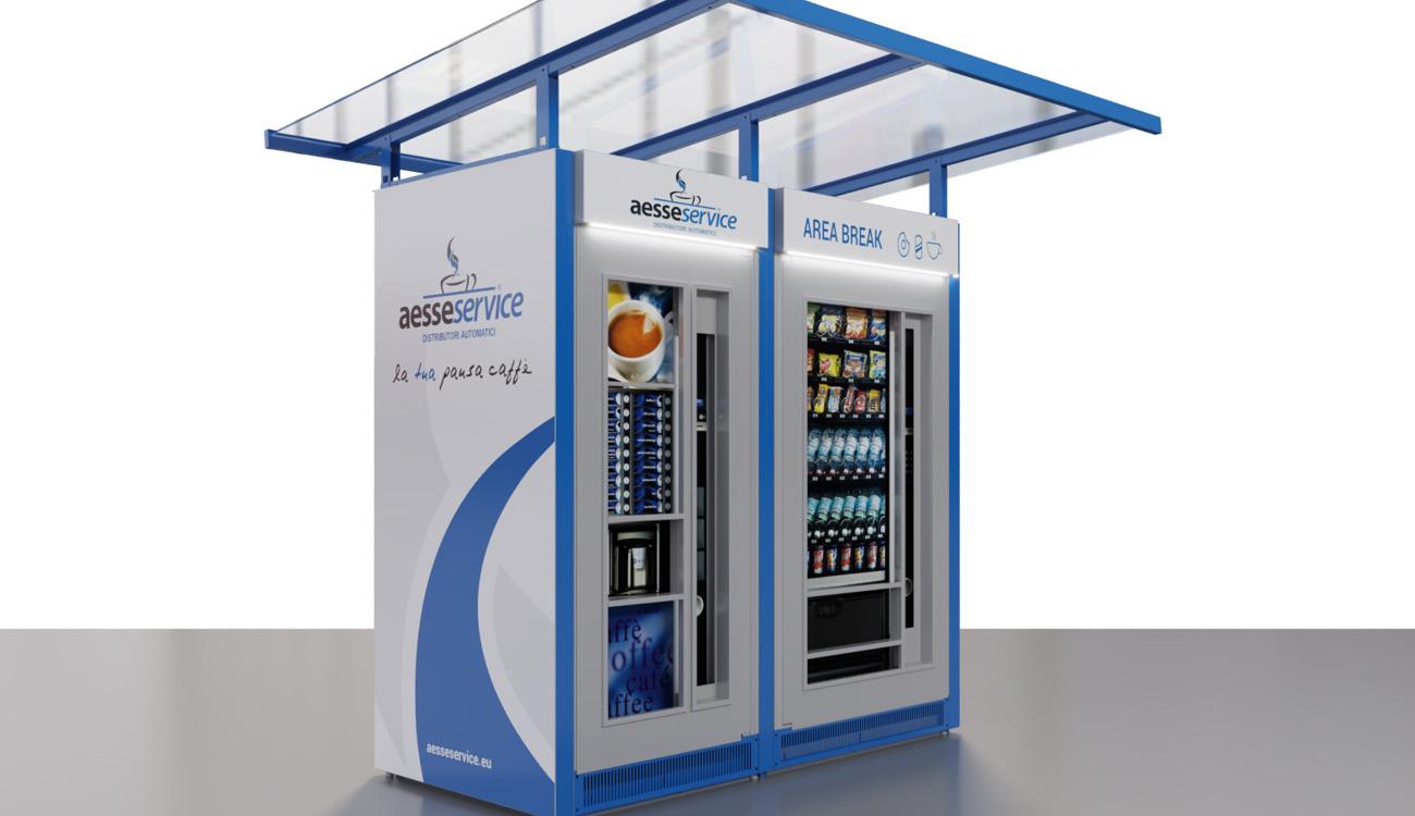 Personalizzazione grafica distributori automatici