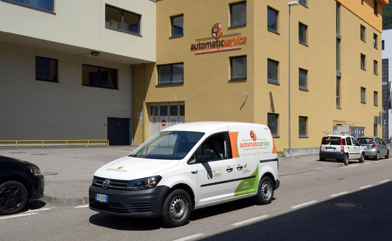 Branding Automatic Service distributori automatici Bolzano